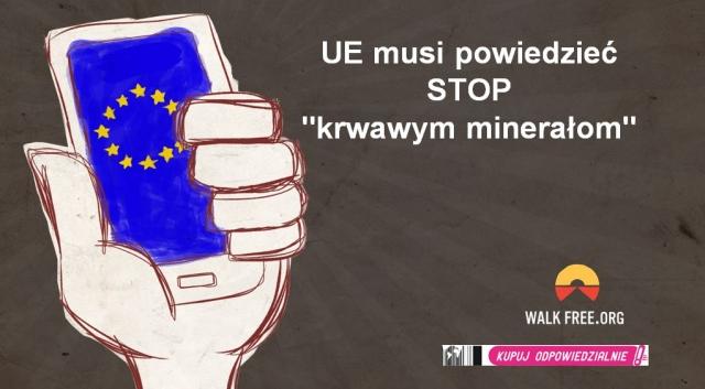 """Unia musi powiedzieć STOP """"krwawym minerałom"""""""