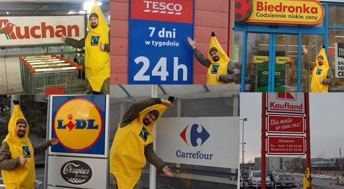 Chcesz kupować fair? Wyślij list do polskich supermarketów idomagaj się produktów Fairtrade wkażdym sklepie