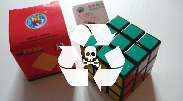 Zabawki zrecyklingowanych odpadów elektronicznych zawierają toksyczne substancje