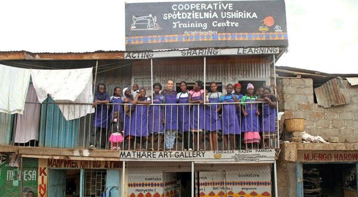 Ushirika - polska inicjatywa pomocy kobietom wkenijskich slumsach