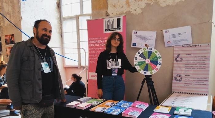 Ekipa Kupuj Odpowiedzialnie na Festiwalach Letnich 2019