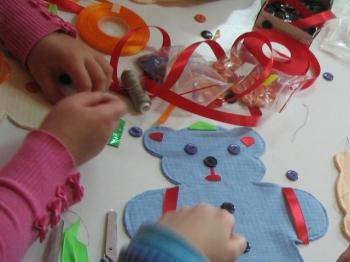 Przedświąteczne warsztaty robienia zabawek!