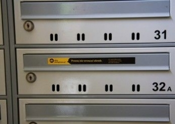 Akcja – stop ulotkom wskrzynkach pocztowych!