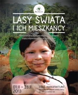 """Multimedialna wystawa """"Lasy świata iich mieszkańcy"""" tym razem wŁodzi"""