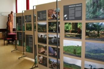 """Wystawa """"Lasy świata iich mieszkańcy"""" wChojnicach"""