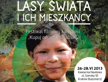 """Festiwal Filmowy """"Lasy świata iich mieszkańcy"""""""