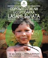 Odpowiedzialna gospodarka lasami świata - zaproszenie na konferencję