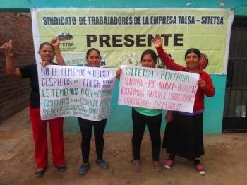 Peruwiańscy pracownicy izwiązkowcy potrzebują Twojej pomocy – WYŚLIJ APEL!