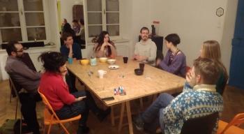 Twój ruch, nasz zmiana. Spotkanie zgrupą Collaborate, Krakow! wramach projektu Moja rewolucja.