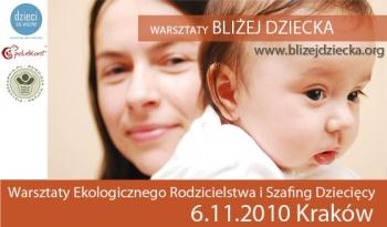 Ekologiczne rodzicielstwo wKrakowie – warsztaty iszafing