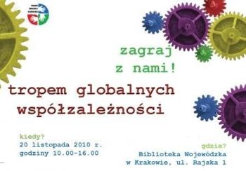 """Gra edukacyjna """"Tropem Globalnych Współzależności"""" wKrakowie"""