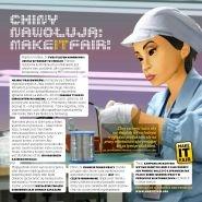 Broszura makeITfair: Chiny nawołują makeITfair